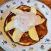 Mandelmehl Pfankuchen
