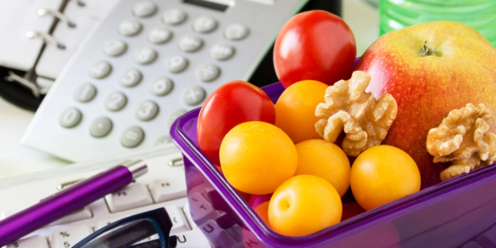 Die Optimale Ernährung Für Die Arbeit Und Unterwegs