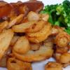 Petersilienwurzel-Bratkartoffeln