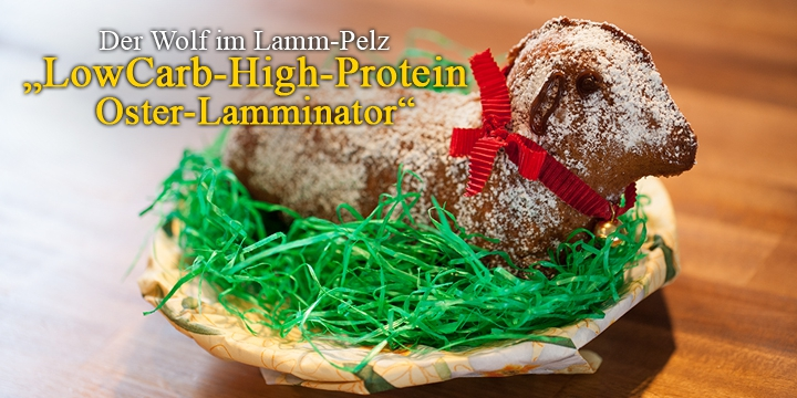 lowcarb Osterlamm