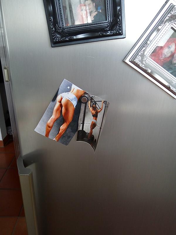 Kühlschrank Motivation